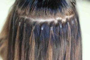 hair extensions for short hair, tape in extensions, keratin extensions