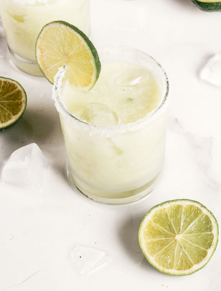 A Coconut Skinny Margarita Recipe With Coconut Water