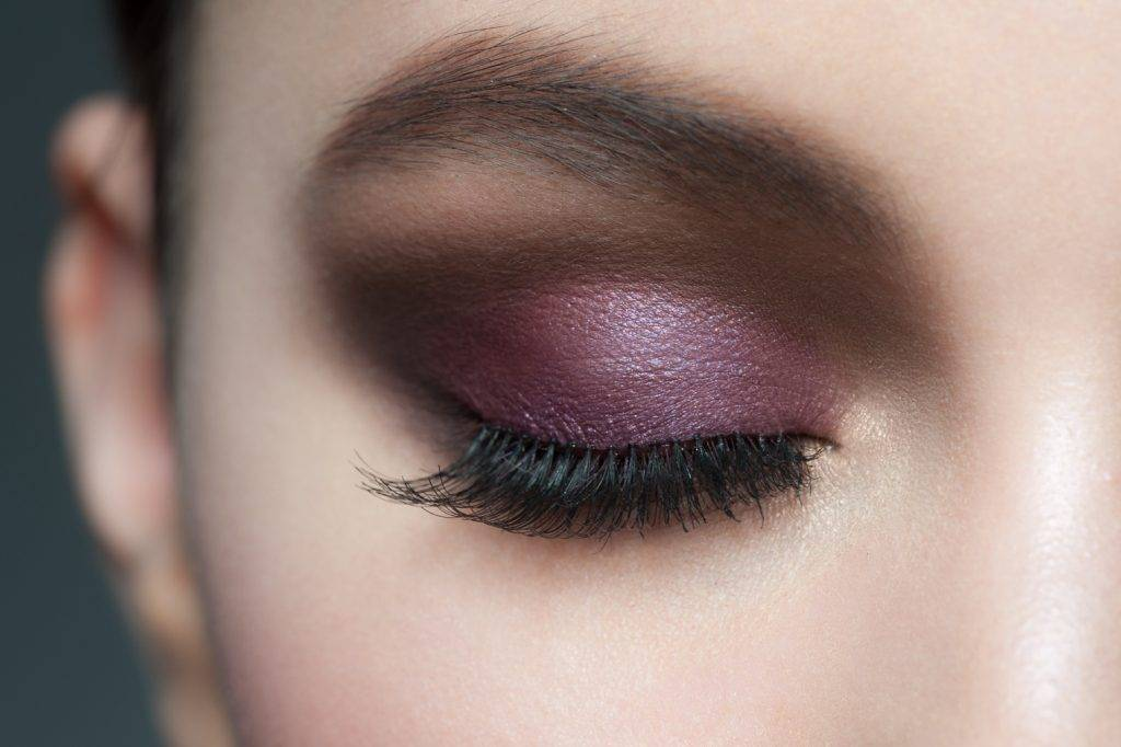 violet smokey eye trends