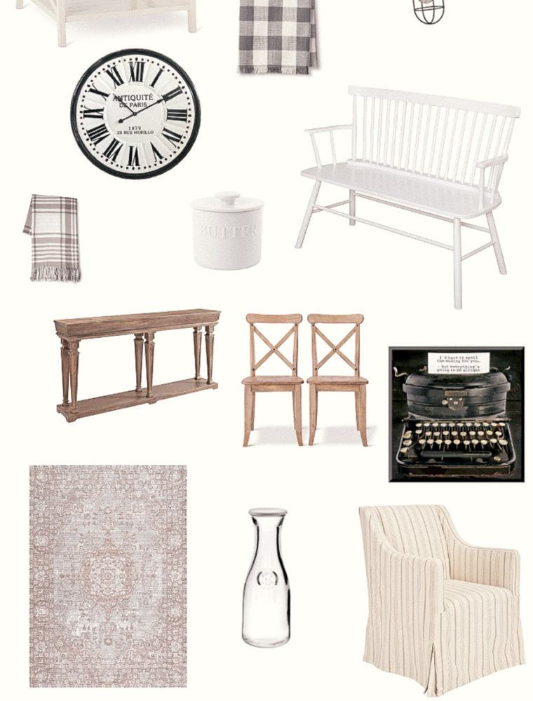 The Ultimate List of Farmhouse Finds at Target | Farmhouse Decor For Less