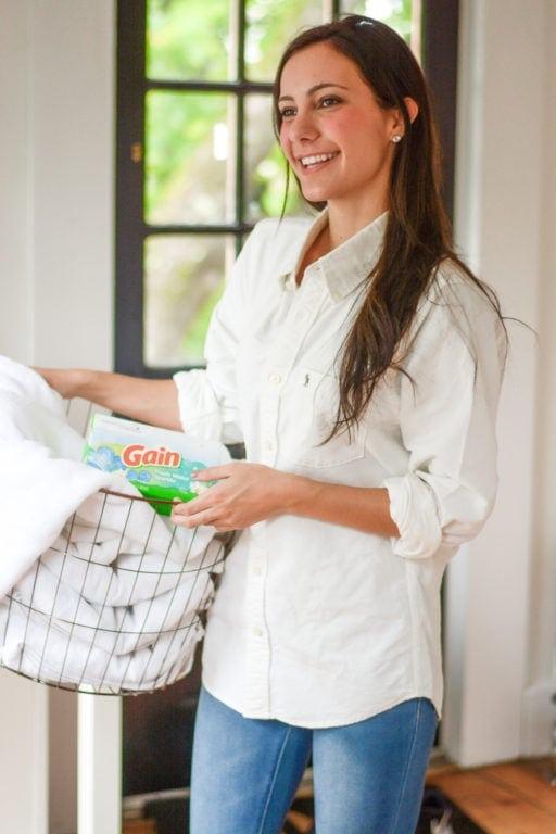 the correct way to do laundry