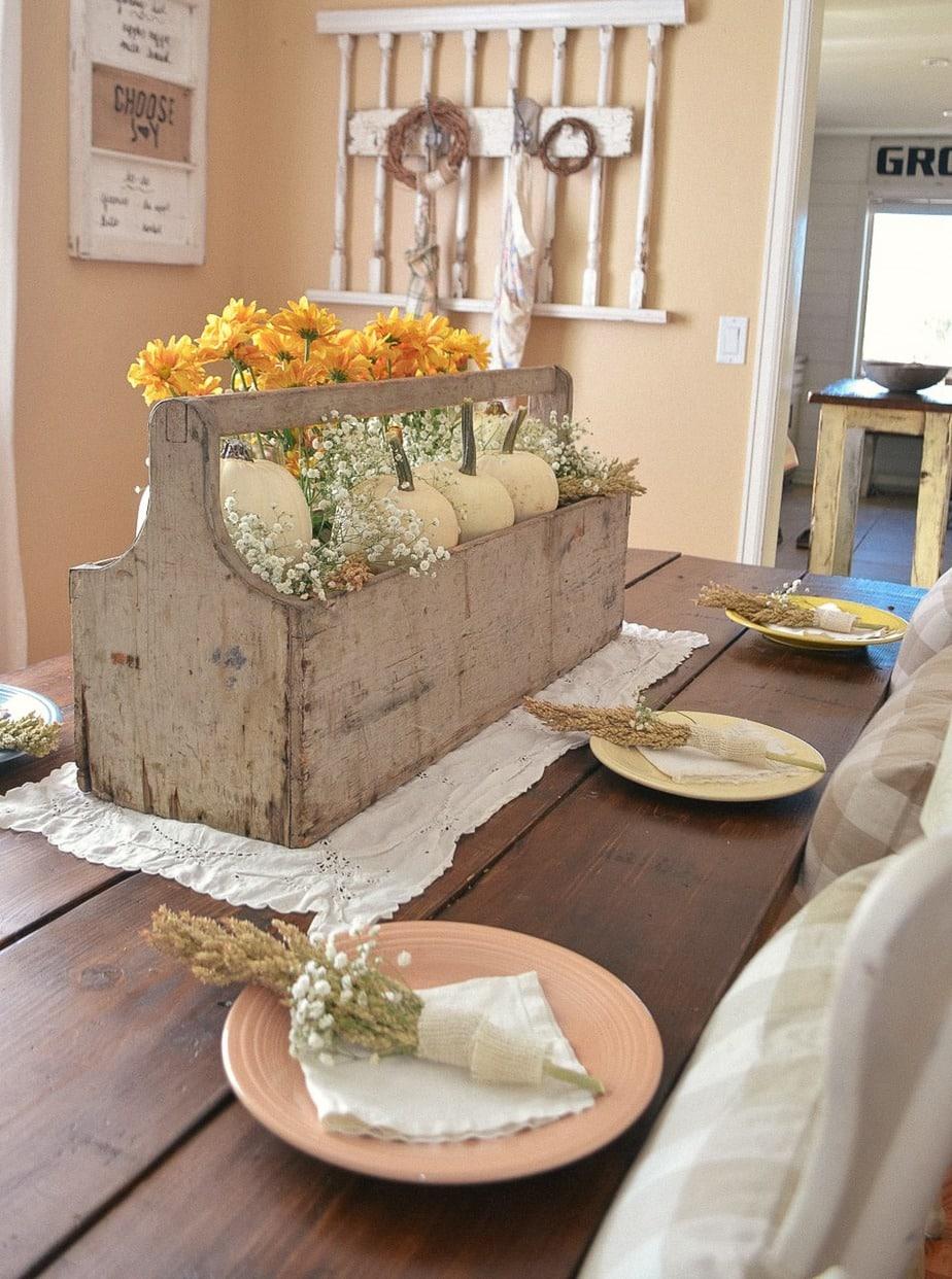 fall table settings