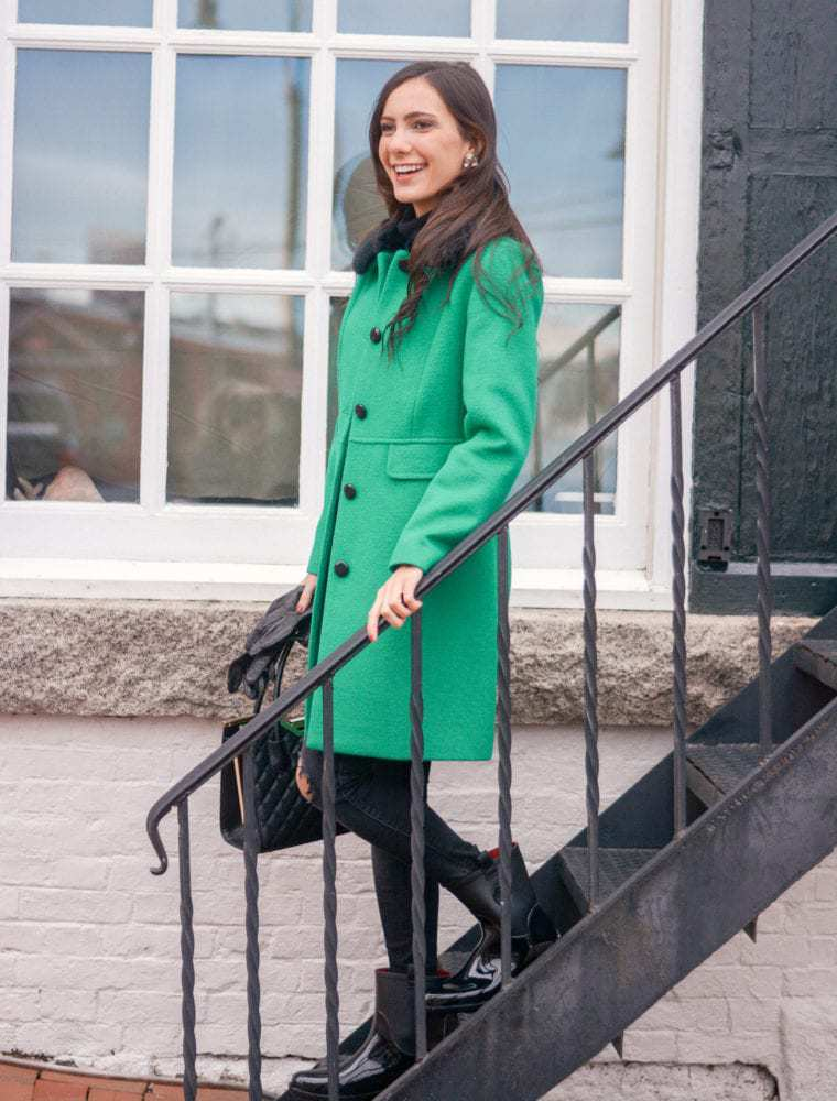 Making a Holiday Statement With Bright Green