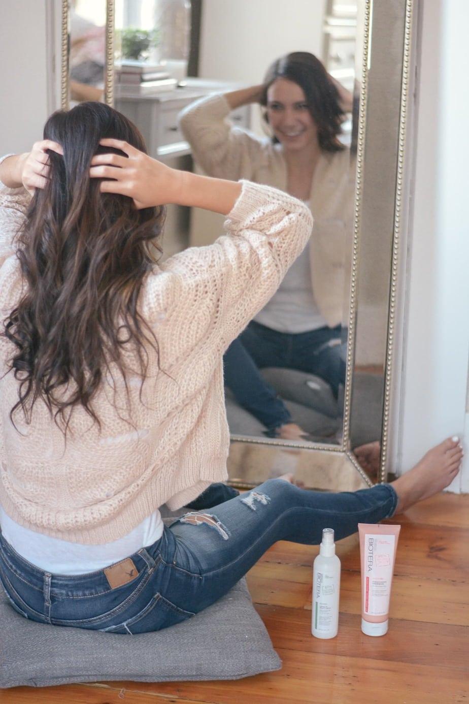 at home hair glaze