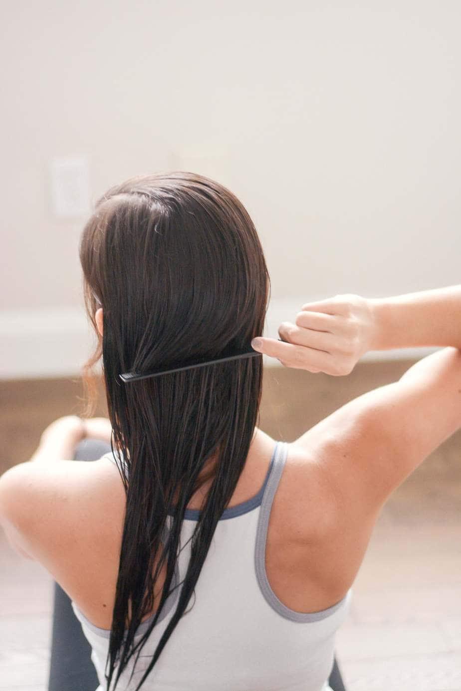 at home hair glaze treatment
