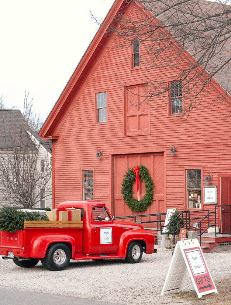 Visiting Kennebunkport Maine During Christmastime