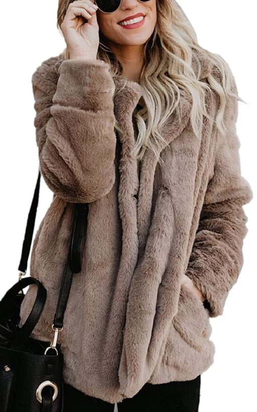 faux fur coat womens