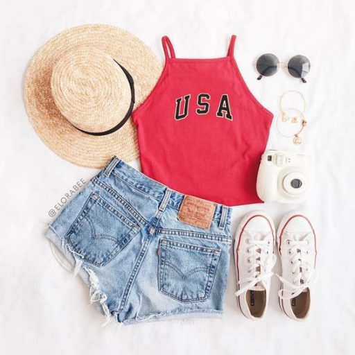 4th of july outfit inspiration // 4th of july outfits