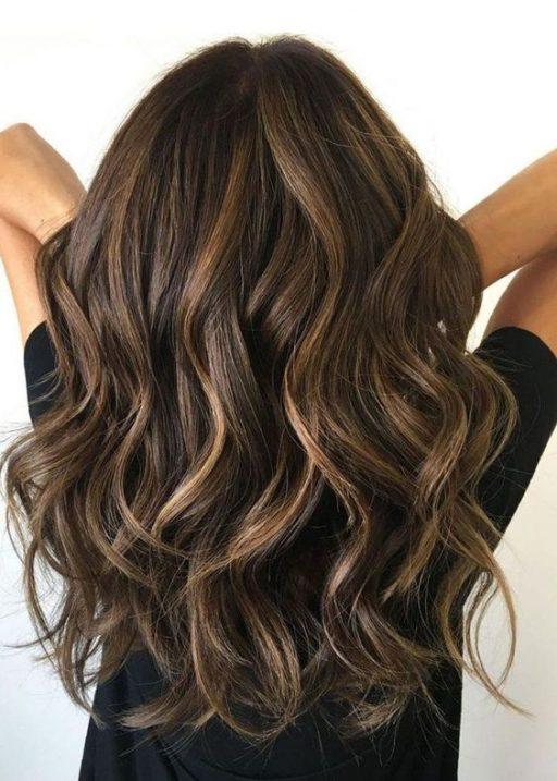 30 Ways To Style Brown Medium Hair Stunning Medium Length