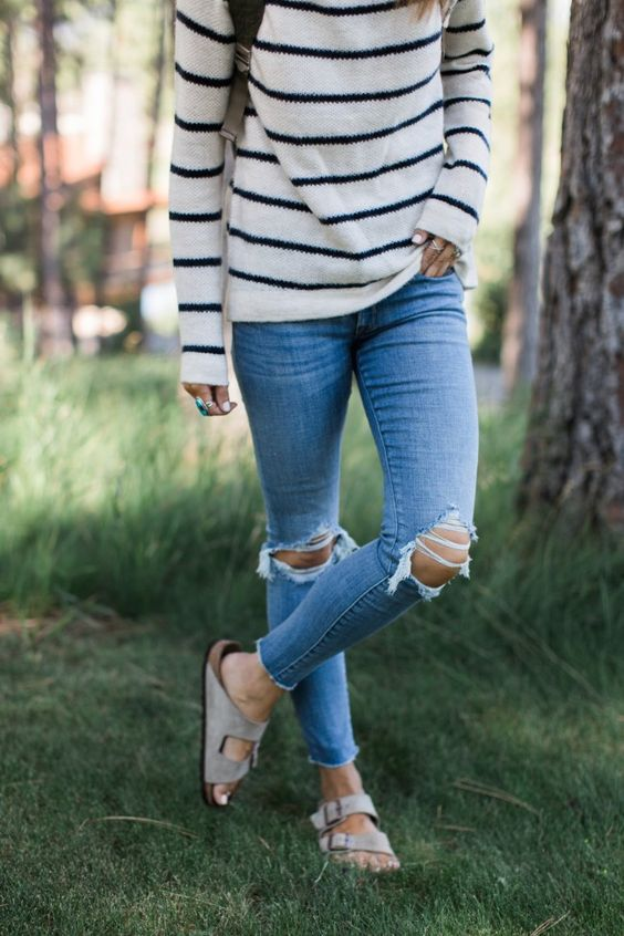 Birkenstock   Birkenstock outfit, Fashion, Fall outfits