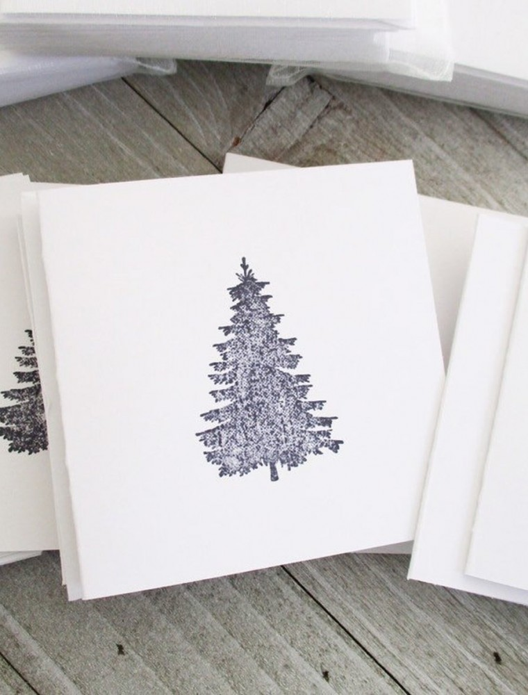 The Prettiest Rustic Christmas Cards To Order Online
