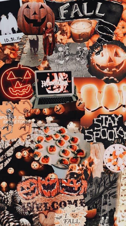 Trendy October & Halloween Wallpaper Backgrounds For Your ...