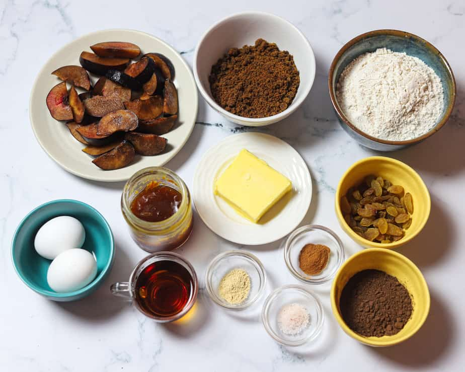 spiced plum cake recipe