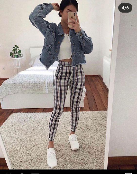 plaid pants outfit, plaid pants outfits